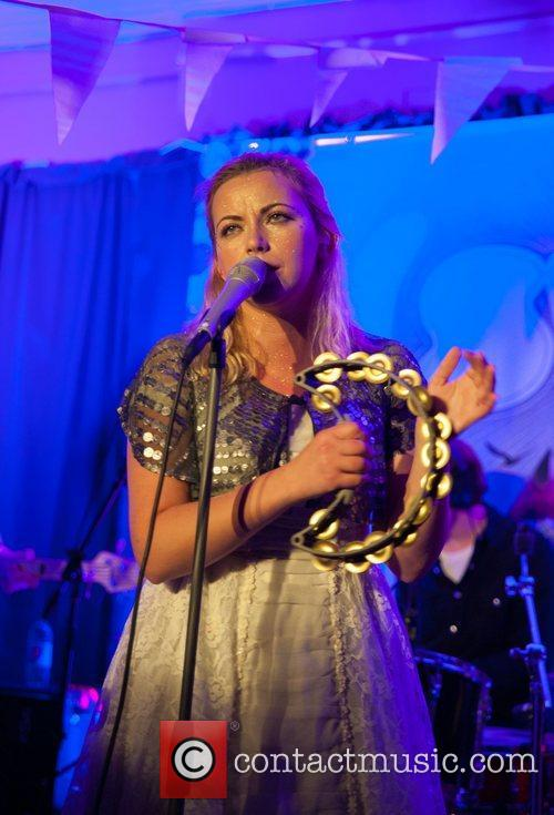 Charlotte Church performing at Dempseys during SWN Festival...