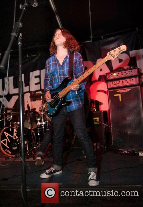 Pulled Apart By Horses performing at Clwb Ifor...
