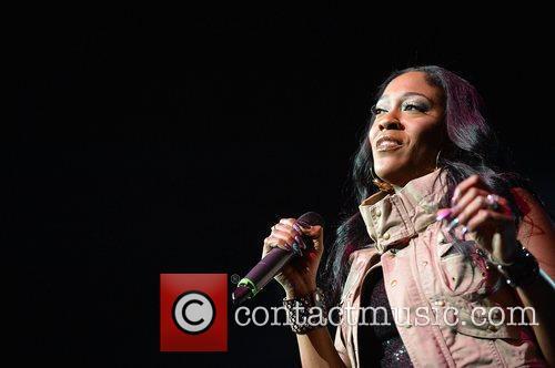 Cheryl 'Coko' Clemons of SWV performs at Bank...