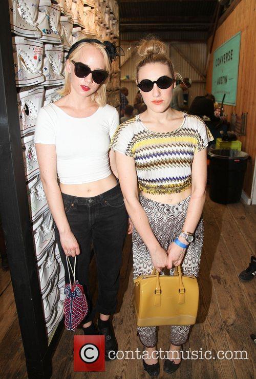 Caitlin Moe and DJ Mia Morett  The...