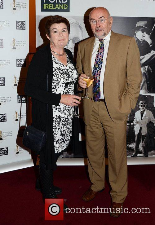 Liz Allman and Ruairi Quinn The IFTA John...