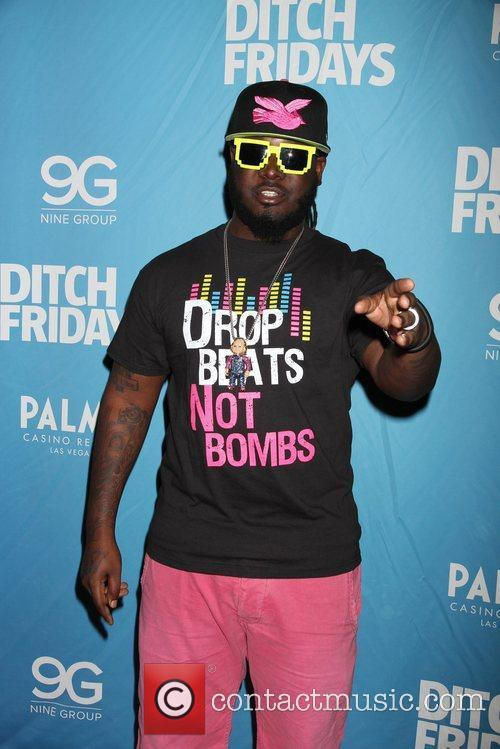 T-Pain attend 'Ditch Fridays' at the Palms Casino...