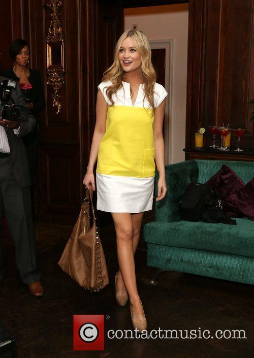 Laura Whitmore Tabitha London re-launch party at the...