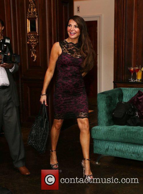 Lizzie Cundy Tabitha London re-launch party at the...
