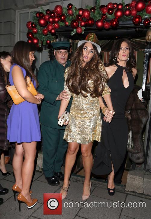 Tamara Ecclestone leaves Annabel's nightclub in Mayfair in...