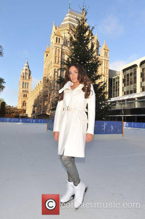 Launches the Natural History Museum Ice Rink -...