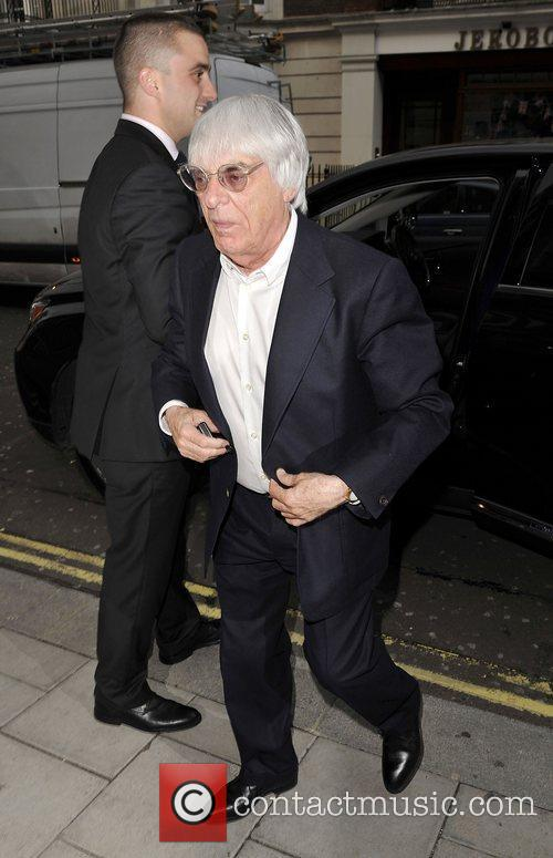 Bernie Ecclestone Going to dinner with his daughter...