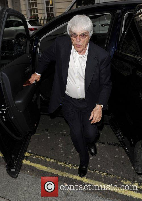 bernie ecclestone going to dinner with his 3942669