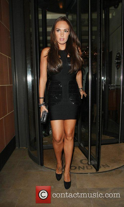 Tamara Ecclestone leaves C Restaurant London