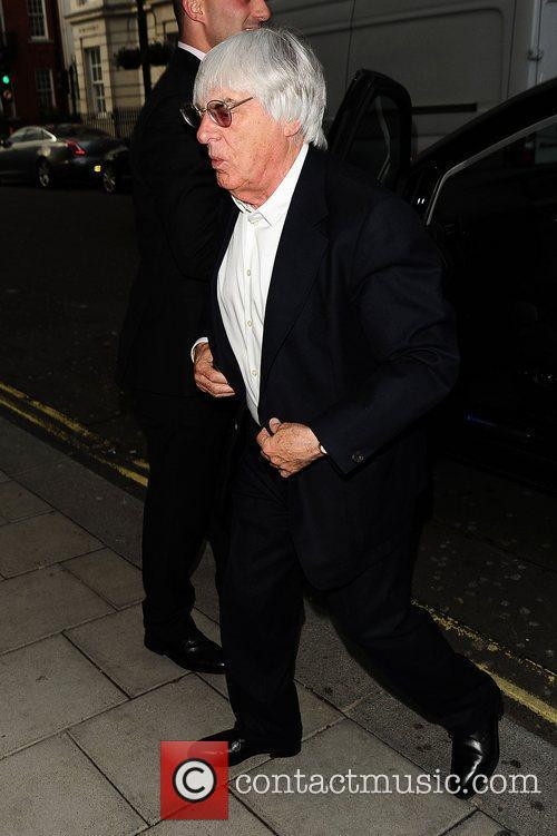 Bernie Ecclestone arrives at C London restaurant London,...