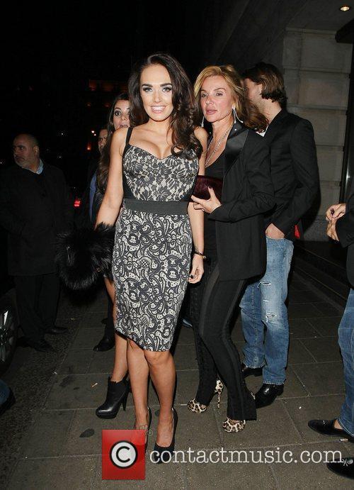 Tamara Eccleston at Novikov restaurant in Mayfair London,...