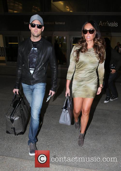 Tamara Ecclestone and a friend arrive at Los...