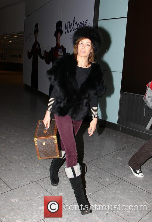 Tara Palmer-tomkinson, Heathrow Airport and Louis Vuitton 3