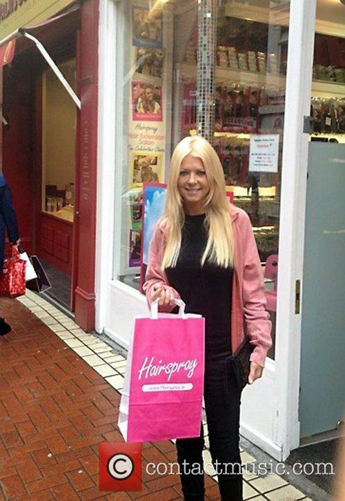 Tara Reid and Hairspray 3