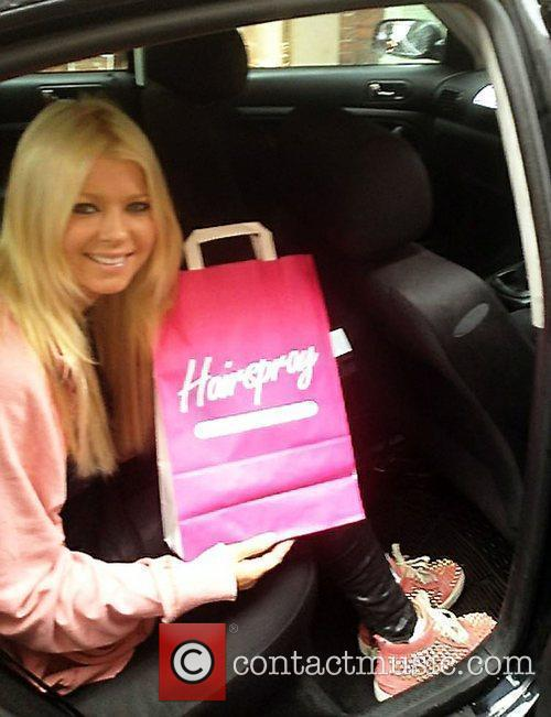 Tara Reid and Hairspray 1
