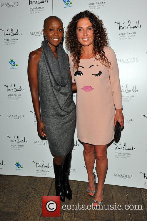 UK launch of Tara Smith Vegan Haircare at...