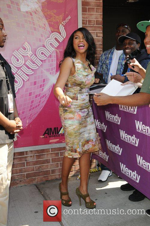 Taraji P Henson and Wendy Williams 2