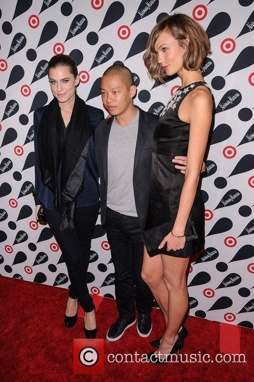 Karlie Kloss, Jason Wu and Allison Williams 3