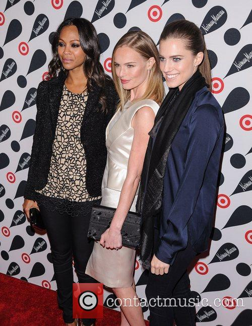 Zoe Saldana, Kate Bosworth and Allison Williams 6
