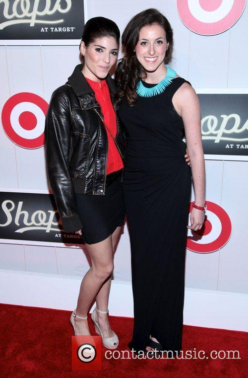 Amanda Setton and Guest The Shops At Target...