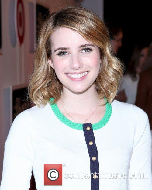 emma roberts the shops at target launch 3857229