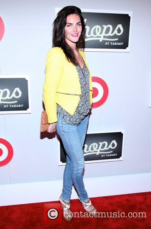 Hilary Rhoda  The Shops At Target Launch...