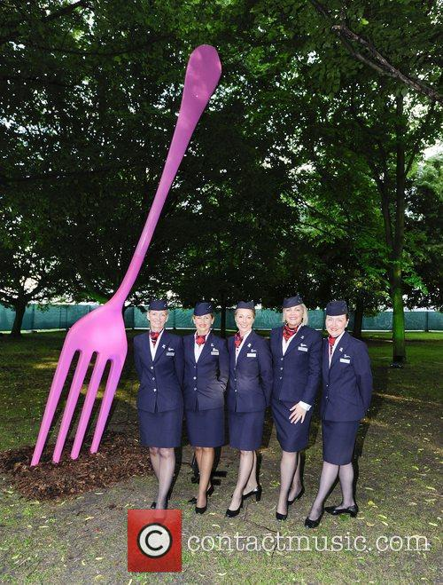 B.A cabin staff,  at the 'Taste Awards'...