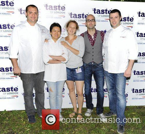 Guests,  at the 'Taste Awards' held at...