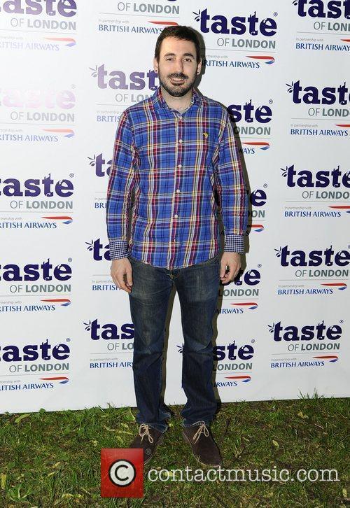 At the 'Taste Awards' held at Regents Park...