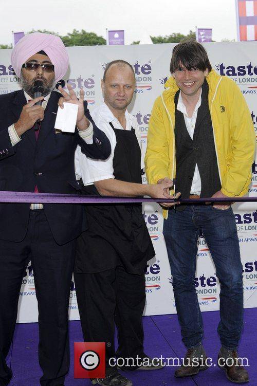 hardeep singh kohli and alex james attend 3958445
