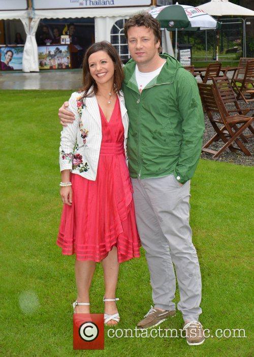 Catherine Fulvio, Jamie Oliver  Taste of Dublin...