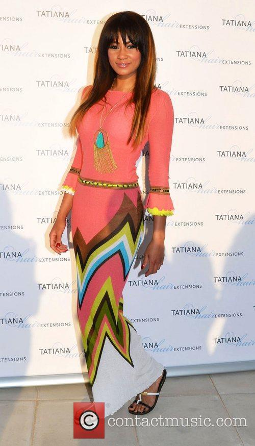 Tatiana Hair Extensions flagship store launch party