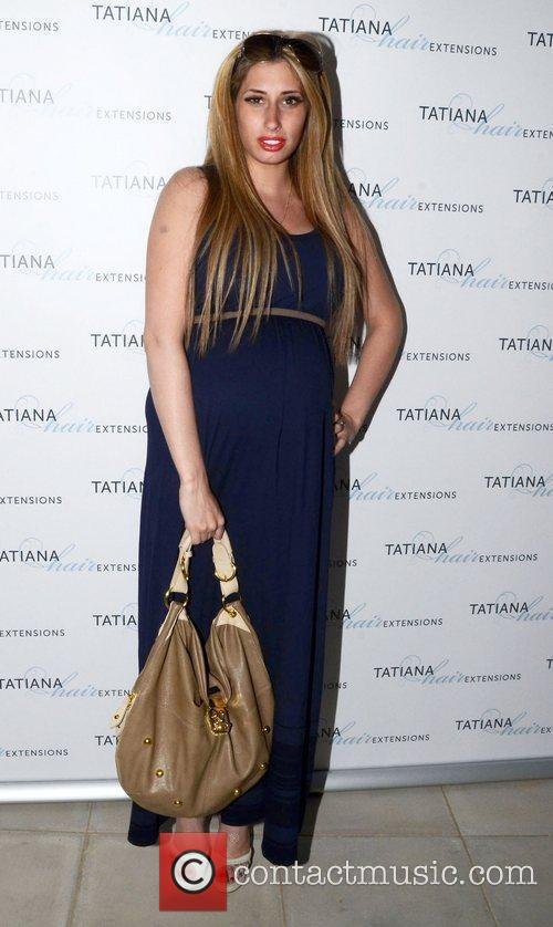 Stacey Solomon Tatiana Hair Extensions flagship store launch...