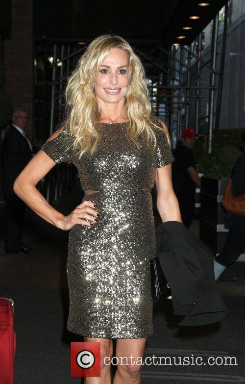 Taylor Armstrong  leaving the 'London Hotel' in...