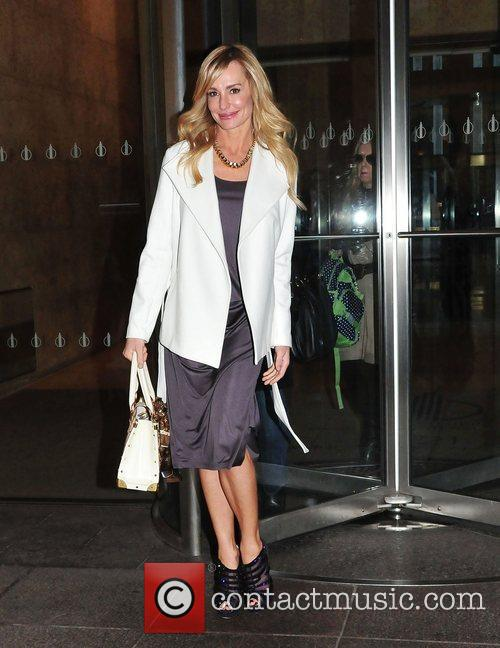 Taylor Armstrong leaves Sirus Radio. New York City,...