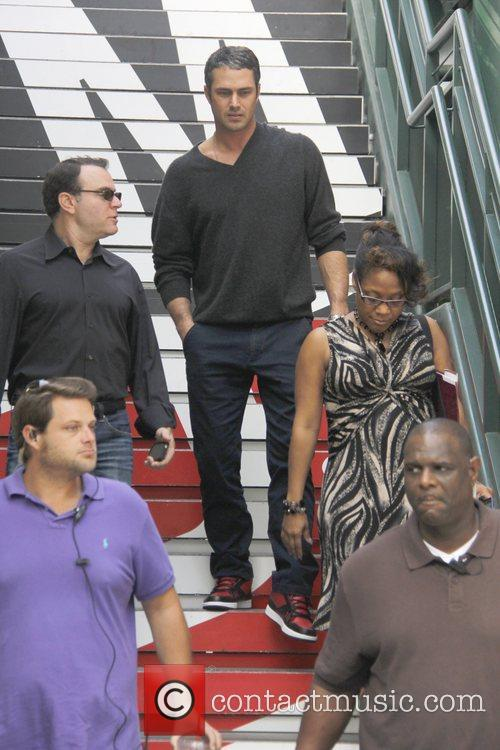 Taylor Kinney, Extra and The Grove 1