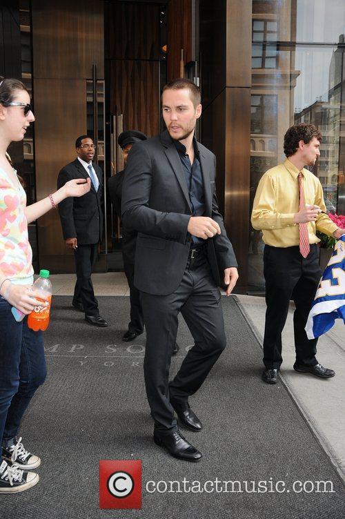 Taylor Kitsch and Manhattan Hotel 3