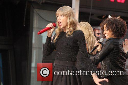 Taylor Swift, Times Square, Good Morning America, Times Square and Good Morning America 3