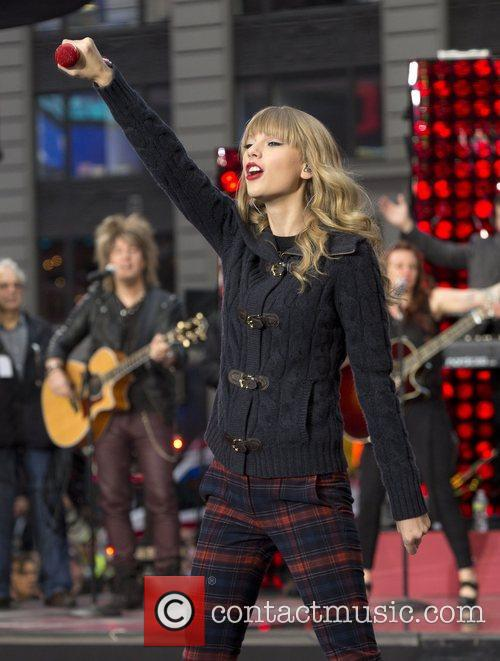 Taylor Swift, Times Square and Good Morning America 2