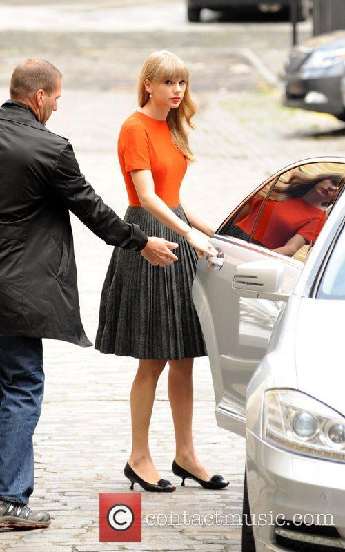 Taylor Swift  out and about in London...