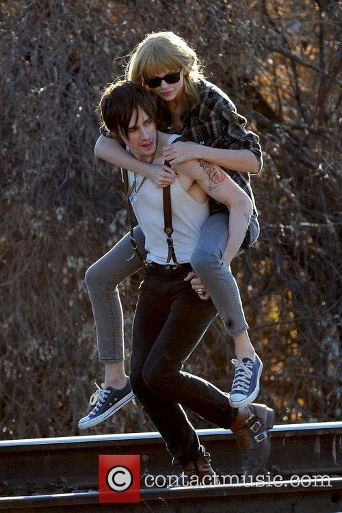 Singer Taylor Swift, Reeve Carney, I Knew You Were, Trouble and Palmdale 26