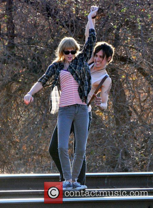 Singer Taylor Swift, Reeve Carney, I Knew You Were, Trouble and Palmdale 13