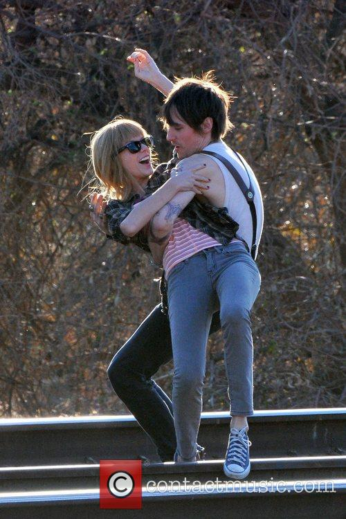 Singer Taylor Swift, Reeve Carney, I Knew You Were, Trouble and Palmdale 19