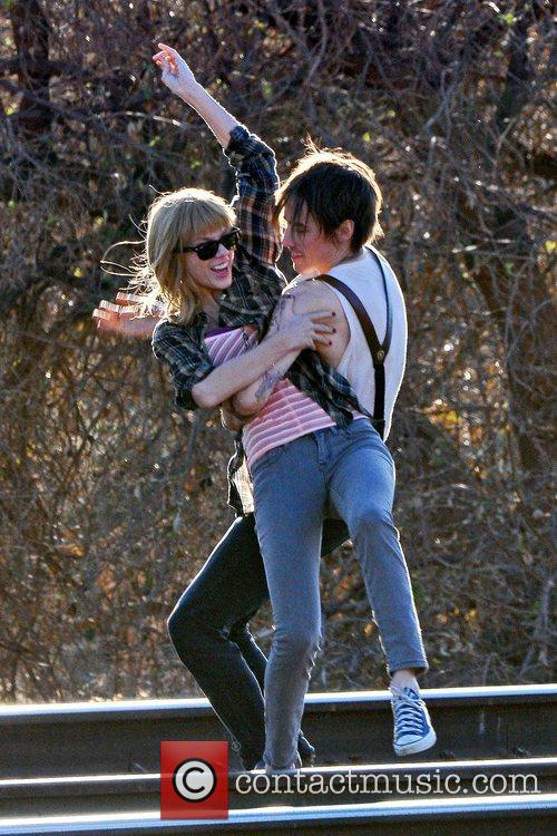 Singer Taylor Swift, Reeve Carney, I Knew You Were, Trouble and Palmdale 14