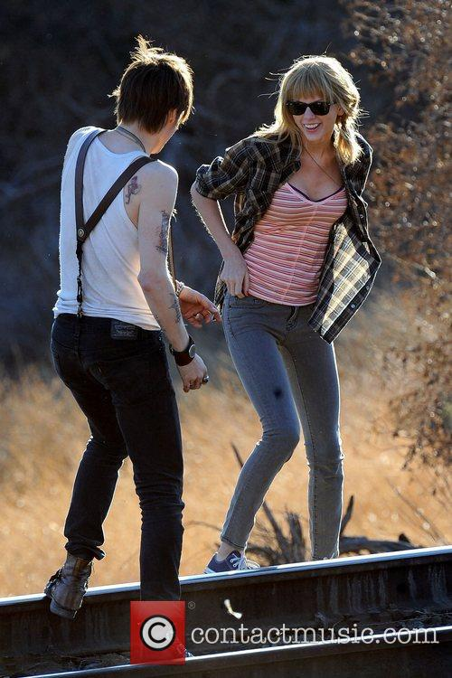 Taylor Swift, Reeve Carney, I Knew You Were, Trouble and Palmdale 1