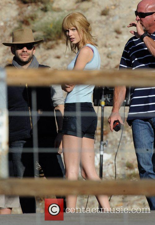 Singer Taylor Swift, Reeve Carney, I Knew You Were, Trouble and Palmdale 15