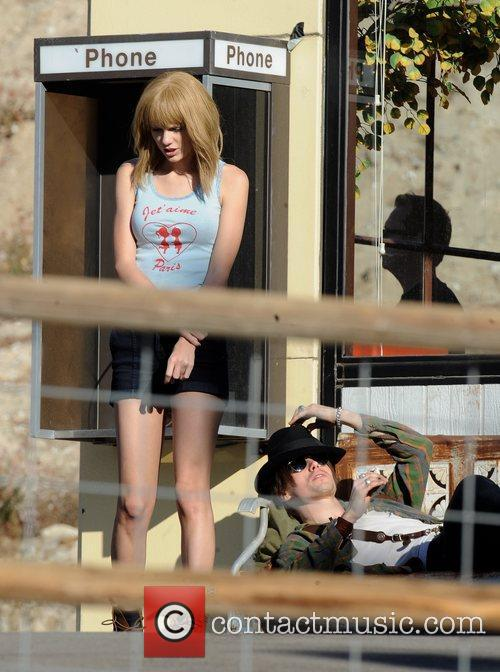 Singer Taylor Swift, Reeve Carney, I Knew You Were, Trouble and Palmdale 25