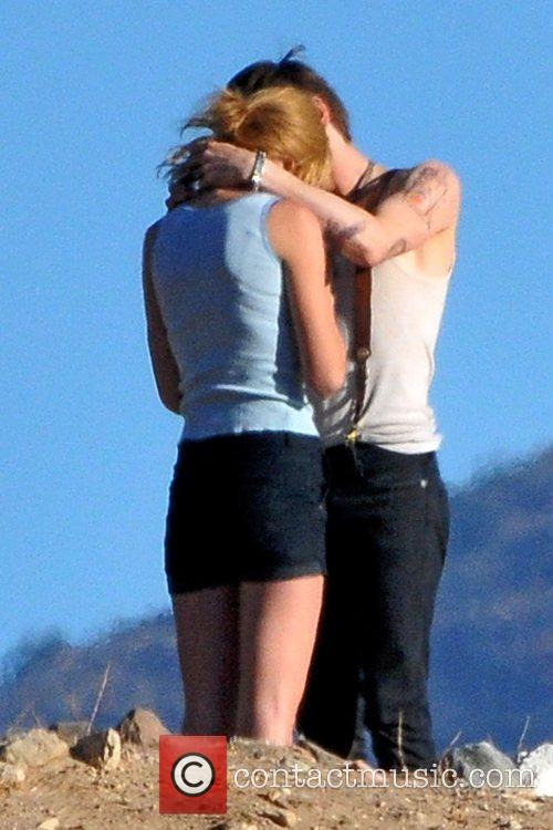 Singer Taylor Swift, Reeve Carney, I Knew You Were, Trouble and Palmdale 27