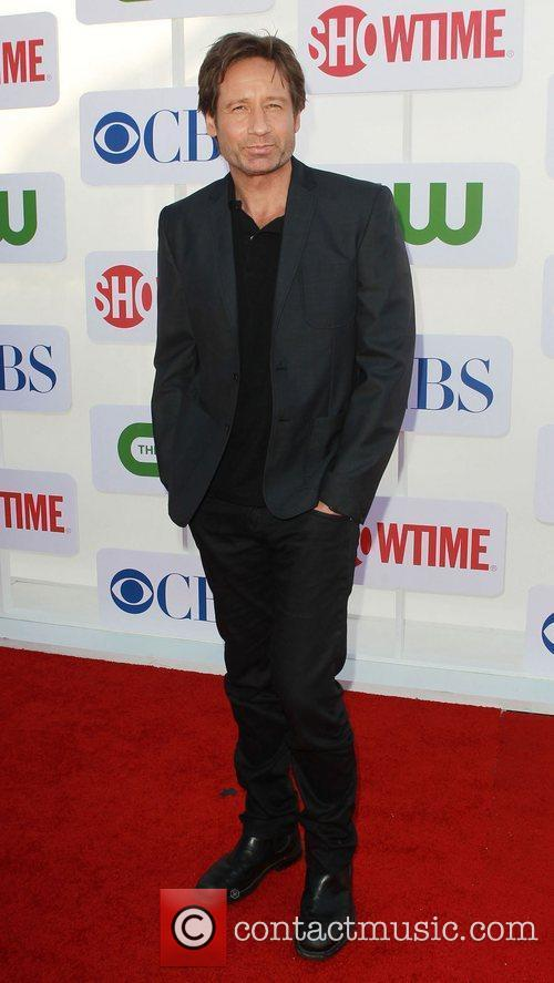 David Duchovny CBS Showtime's CW Summer 2012 Press...