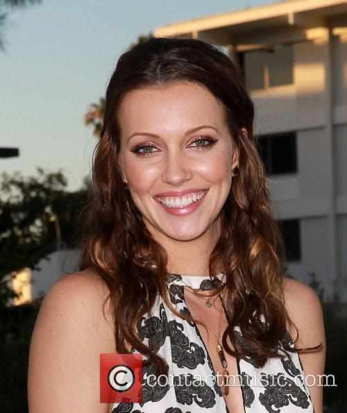 Katie Cassidy and Beverly Hilton Hotel 6